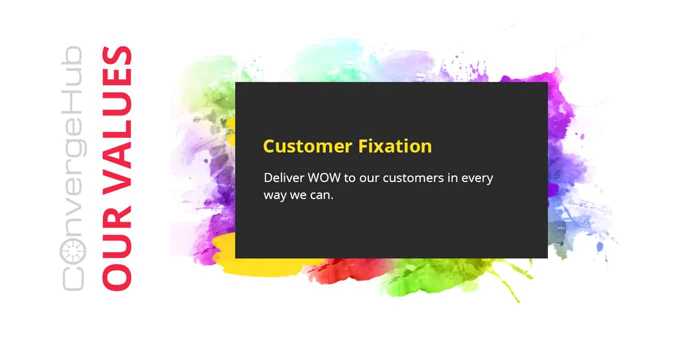 customer fixation