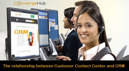 Best call center CRM with customer contact center CRM features