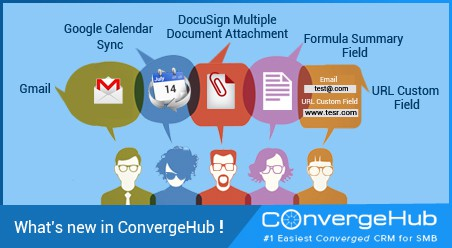 What's new in ConvergeHub (Release Update on 14th July 2015)