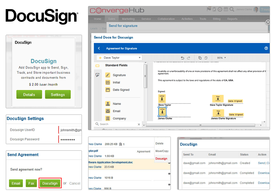 DocuSign Features