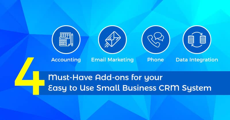 Easy to use small business CRM system
