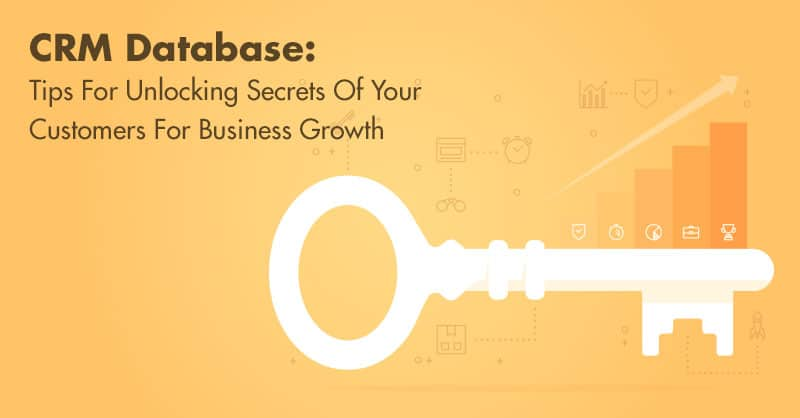 CRM Database: Tips For Unlocking Secrets Of Your Customers For Business Growth