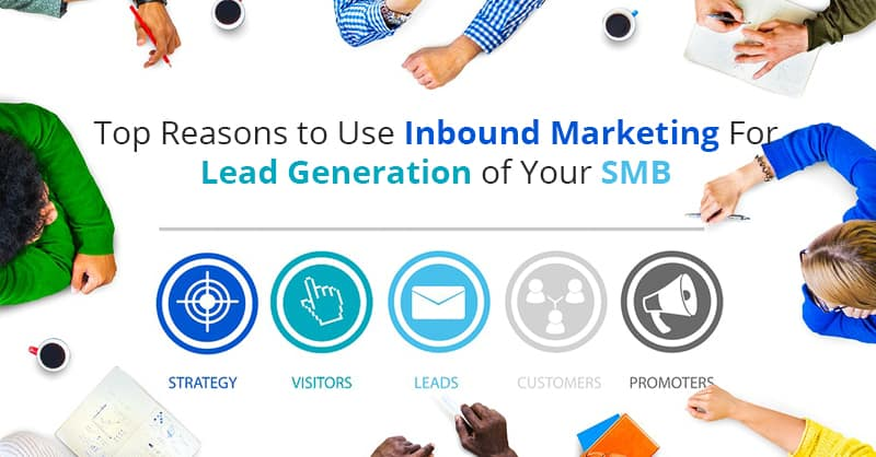 Top Reasons to Use Inbound Marketing For Lead Generation of Your SMB