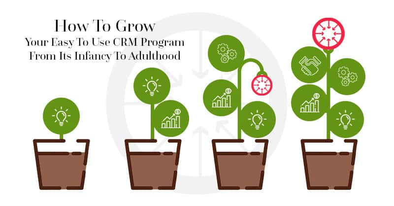 How To Grow Your Easy To Use CRM Program From Its Infancy To Adulthood