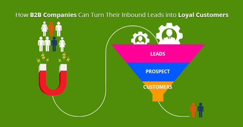 How B2B Companies Can Turn Their Inbound Leads into Loyal Customers